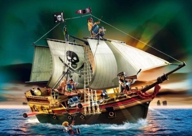 Bateau pirate Playmobil 5135 avis \u0026 test \u2022 L\u0027ile aux pirates