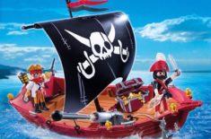 Notre avis sur le Bateau pirate Playmobil 5298 «La Chaloupe des pirates»