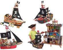 Les 4 plus beaux bateaux pirates en bois