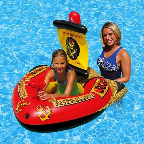 flotteur gonflable bateau pirates