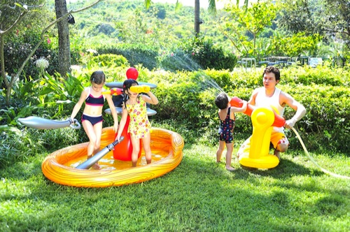 piscine gonflable pirate bateau